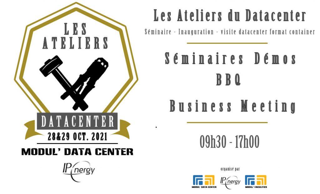 Les Ateliers Datacenter invitation
